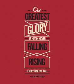 Our Greatest Glory by POGO #typography
