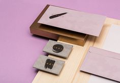 """MIKÃ""""TO Japanese Cuisine on Behance #violet #color #identity #gold"""
