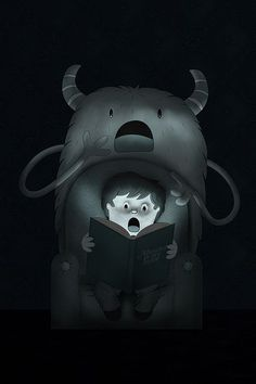 Monsters by ospina_oscar #inspiration #dream #illustration #art #monster