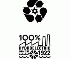charles s. anderson design co. | Hydro Logos #csa #paper #french #csadesign