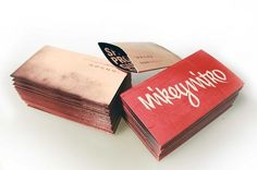 mike reyes design #mikey #nitro #stationary #business #cards