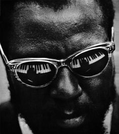 Thelonious Monk | Shiro to Kuro #white #black #photography #portrait #and