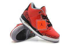 Nike Air Jordan Retro 3 Fire Red Mens Shoes #shoes