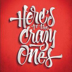 Jeremy Pruitt / Pinterest #type #lettering