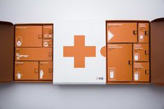 First Aid Kit on Behance #packaging #package #hungary #first aid #conceptual design