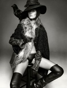 Merde! - Fashion photography (Greg Kadel shoots Toni Garrn... #fashion