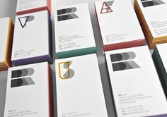 BRR | Lovely Stationery #business #card #unique #monogram #identity #logo