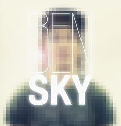 Benedikt_lensflare_new | Flickr - Photo Sharing! #photo #benedikt #portrait #square #bensky #gansczyk #typography