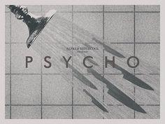 Psycho by drMierzwiak #film #poster design #psycho #hitchcock