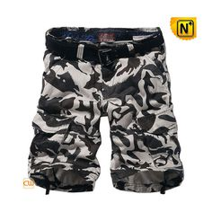 100% Cotton Camo Cargo Shorts CW140196