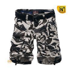 100% Cotton Camo Cargo Shorts CW140196 #camo #shorts #cargo