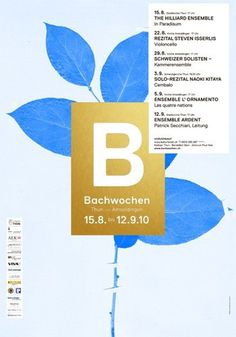 Bachwochen Coboi #type #layout #design