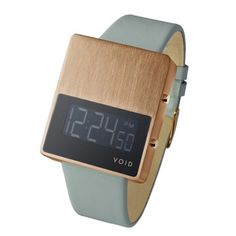 Dezeen » Blog Archive » Competition: five V01EL watches to be won #wood #clock #watch