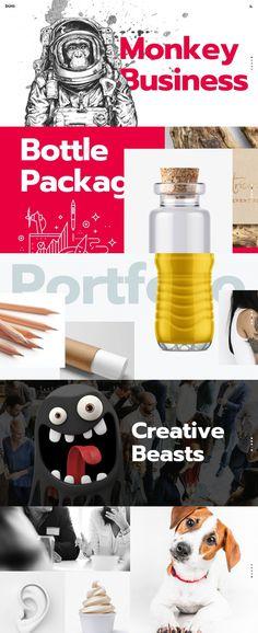 Büro – Ultimate Agency and Freelancer #freelancer #agency #webdesign #minimal