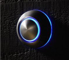 True Illuminated Doorbell by Spore #tech #flow #gadget #gift #ideas #cool
