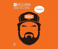 Eight Hour Day » Blog » DDC vs. Austin #aaron #austin #draplin #poster #ddc