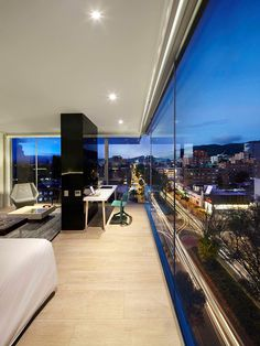 Click Clack Hotel: The Modern Place to Stay When in Bogota, Colombia #bogota #colombia #interios #hotel