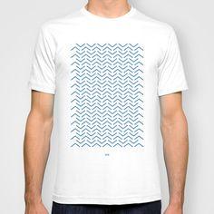 Nonsense tee - Hadrien Degay Delpeuch #nonsense #vector #fabric #minimal #tee #blue