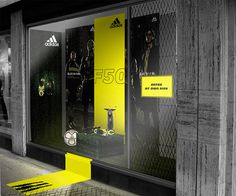 Window Display #display #window #adidas #retail