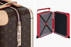 Marc Newson Revamps Louis Vuitton's Luggage #MarcNewson #LouisVuitton #Trunks #Luxurious #luxury #fashion