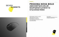 Seven Summits #specimen #branding #identity #film #type #production