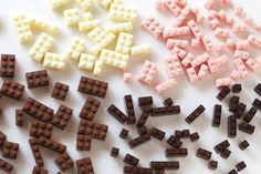 CHOCOLATE LEGO:ACGUY on Behance #lego #toys #chocolate
