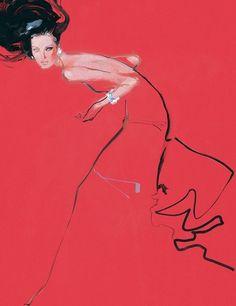 Haute Couture Fashion Illustration – Illustration inspiration on MONOmoda