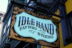 Modern Vintage: Hand Painted Signs | Vintage Me Oh My #sign #painted #hand