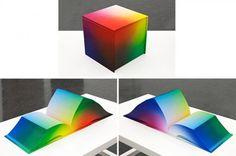 RGB Colorspace Atlas #dataviz #gamut #rgb #color #book