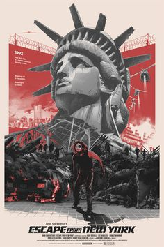 Gabz illustration movie posters