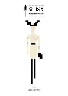 8 bit Fashionary | Fashionary Blog #fashion #illustration #bit