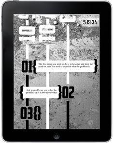 Metropolis city guide app #fi #metropolis #sci #tablet #app