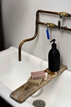 Sink & tap #soap #tap #sink #pipe