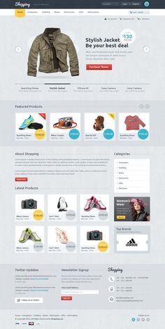 Shopping-theme-tf #ecommerce #homepage