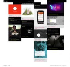DHNN - The new 2011 website full story on the Behance Network #dhnn #interactive #portfolio #design #grid #case #identity #studies #web