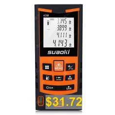 suaoki #S9 #laser #distance #meter #- #ORANGE
