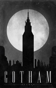 Likes | Tumblr #design #gotham #batman