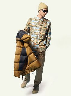 Stussy Mens Fall 2012 Lookbook 09 #fashion #mens #clothing #stussy