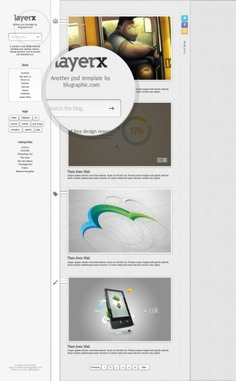 Layerx blogger website theme template Free Psd. See more inspiration related to Template, Website, Website template, Blog, Theme, Blogger and Vertical on Freepik.