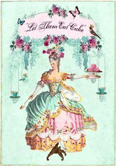 coqueterías - latinamericana: (via scotomisation) #antoinette #vintage #marie