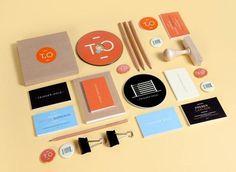 Trigger Oslo - Identity | Design.org #brand #orange #identity #collateral