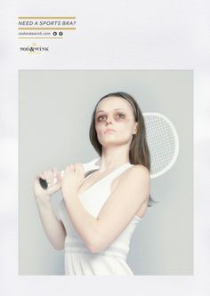 Nod and a Wink: Tennis #ad #tennis #publicity #advertising