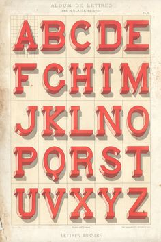 1882lettres 1 | Flickr - Photo Sharing! #type #letters