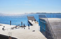 julien lanoo captures views of faaborg harbour bath by JDS #waterfront