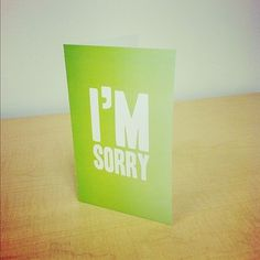 Megan Brown | greeting cards #greeting #cards #sorry