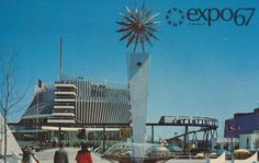 Pavilion of France at Expo '67 Montreal, Quebec | Flickr Photo Sharing! #expo #montreal #world #fair #67