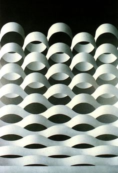 Julio Le Parc, Modulation 62, 1976. Acrylic on canvas.
