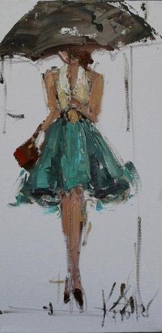 Fashion Ladies by Kathryn Trotter | Cuded