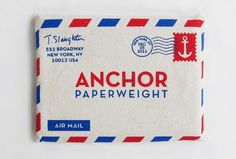 Convoy #anchor #print #envelope
