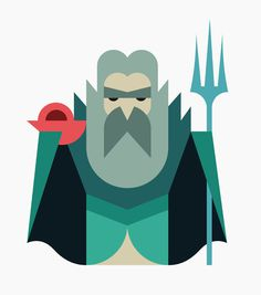 Oh My God, Hey Studio #illustration #character #minimal #geometric